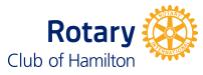 2020 Rotary Club Hamilton